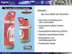 OHP-Foliensatz, 6-teilig, ISOGARD TOTAL
