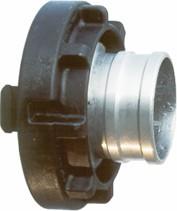Druckkupplung C52, Ø42, LM mit Kunststoff-Knaggenteil