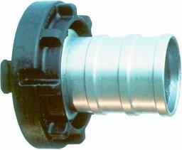 Druckkupplung C52, Ø52, LM mit Kunststoff-Knaggenteil