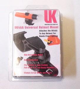 Helmhalter für UKE 4AA Hochleistungstaschenlampe