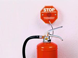 Diebstahlsicherung für Feuerlöscher STI 6200
