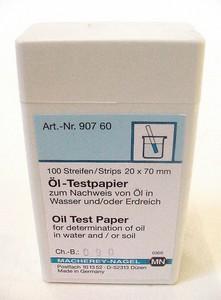 Öltest-Papier