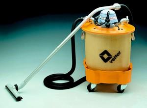 Öl-Wasser-Staubsauger fahrbar