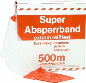 Folien-Absperrband Ausführung: rot-weiß
