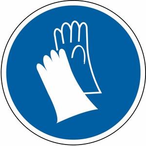 Schutzhandschuhe tragen FO Ø 200