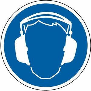 Gehörschutz tragen FO Ø 200