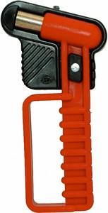 Nothammer mit integrierter Halterung