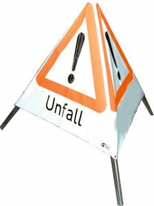 Faltsignal 90 cm 3 x Unfall