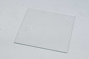Glasscheibe 93 x 93 x 1 mm