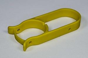 Ventilsicherungsschelle, gelb