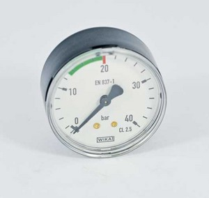 Manometer 0-40 bar