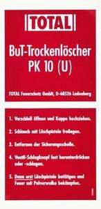 Beschriftung 2-teilig PK 10 TOTAL neu ab 10/97