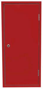 FL-Schutzschrank HL 080-E/12-Z, rot