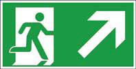 Rettungsweg oben rechts ISO/ASR KN 300x150