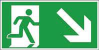 Rettungsweg unten rechts ISO/ASR KN 300x150