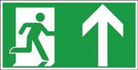 Rettungsweg oben ISO/ASR KN 400x200