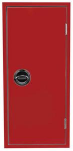 FL-Schutzschrank HL 070-E/6-MD, rot