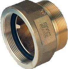 """Montageverschraubung 2"""" Messing DIN 14461-5"""