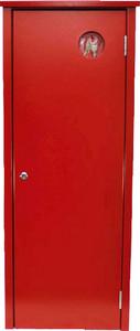 FL-Schutzschrank HL 080-S/CO-Z, rot