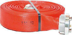 Feuerlöschschlauch C42, 1 lfd. Meter, rot, Klasse 2